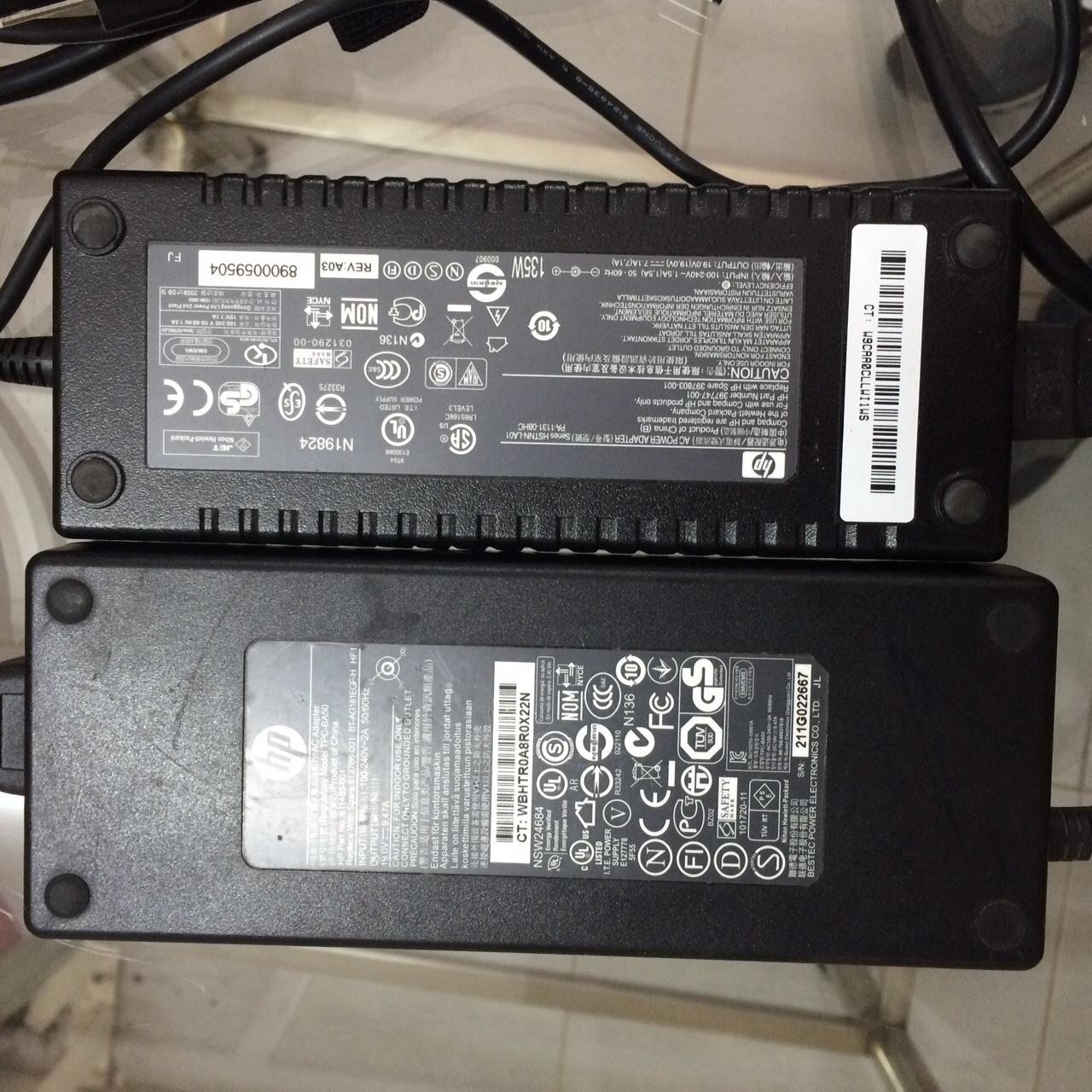 Adapter hàng zin theo máy HP, DELL, IBM
